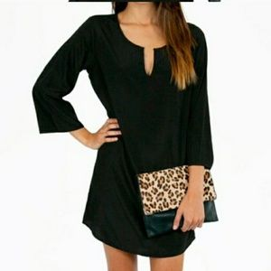 Tobi Shift Mini Dress
